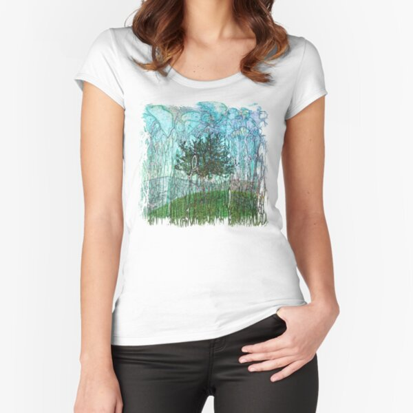The Atlas Of Dreams - Color Plate 94 Fitted Scoop T-Shirt