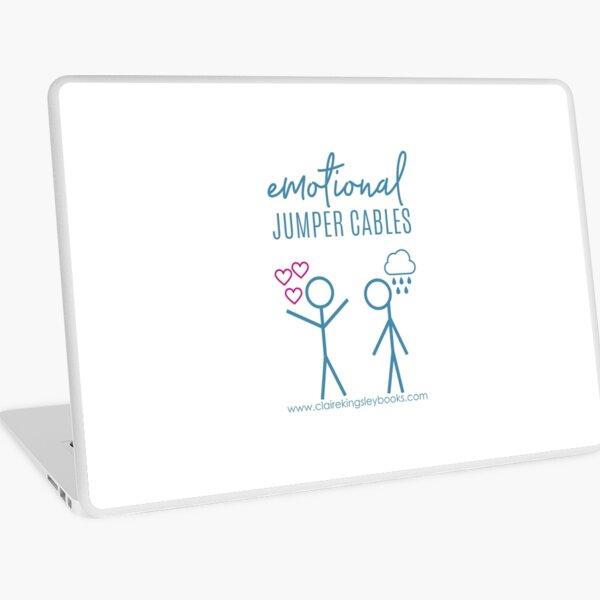 Emotional Jumper Cables Laptop Skin