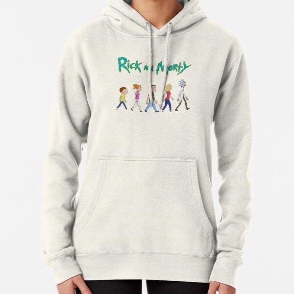 Rick et Morty - Famille marchant ensemble Sweat à capuche épais