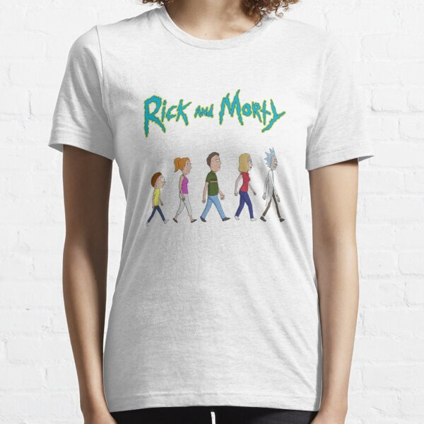 Rick and Morty -Family Together Walking Essential T-Shirt