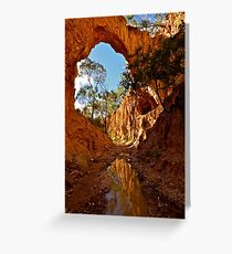 Golden Gully. Greeting Card