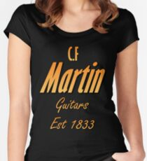 Martin Guitars Women's Fitted Scoop T-Shirt