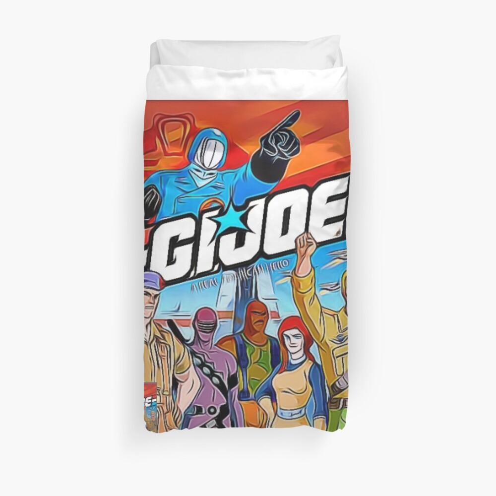 """G.I. Joe """"the 80's series"""" Duvet Cover"""