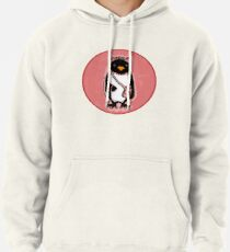 Pink Kitty Penguin Pullover Hoodie