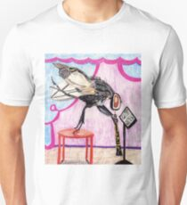 Housefly Francois Plays The Oboe Unisex T-Shirt