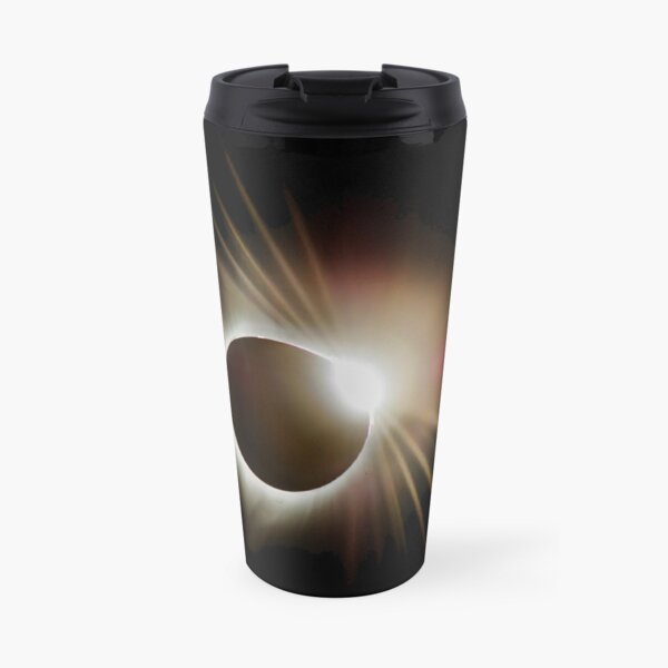 Diamond Ring Around the Sun Travel Mug