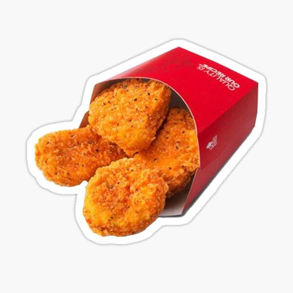 Wendys Spicy Nuggets Sticker Sticker