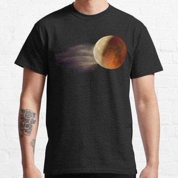 Lunar Eclipse with Cloud,  Classic T-Shirt