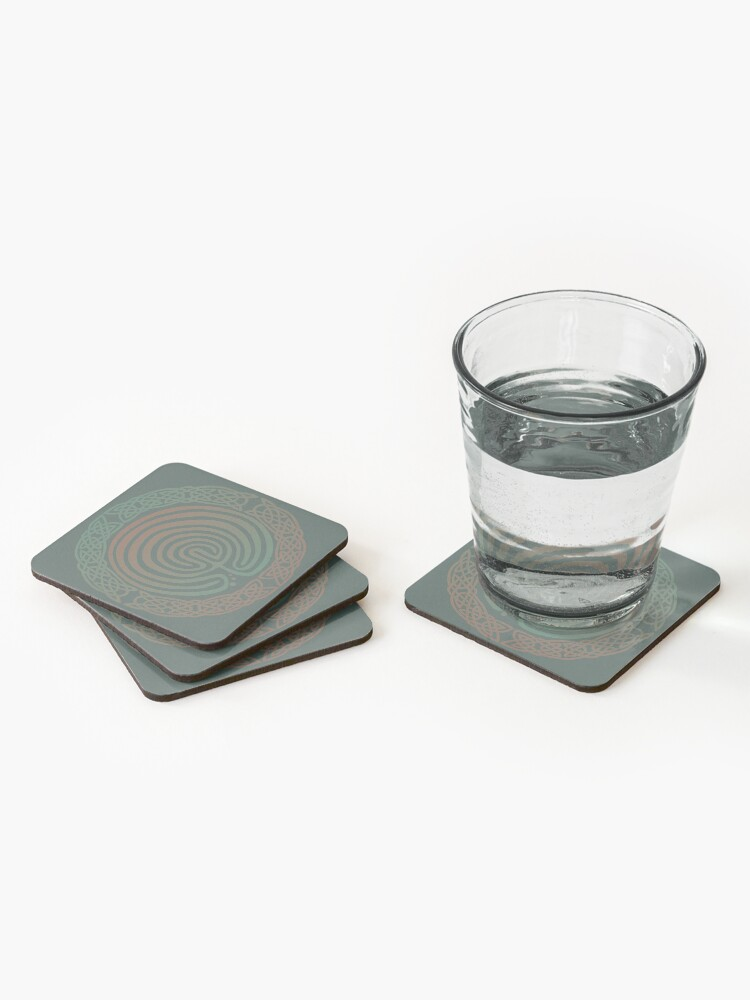 Alternate view of Into the Labyrinth Coasters (Set of 4)