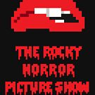 8-Bit Rocky Horror Lips by AlCreed