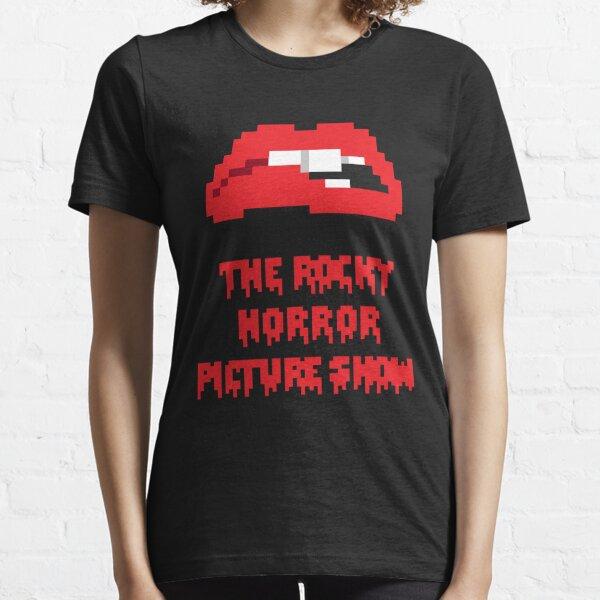 8-Bit Rocky Horror Lips Essential T-Shirt