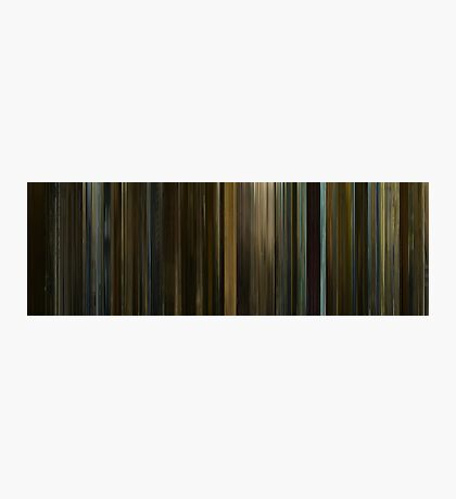 Moviebarcode: The Social Network (2010) Photographic Print