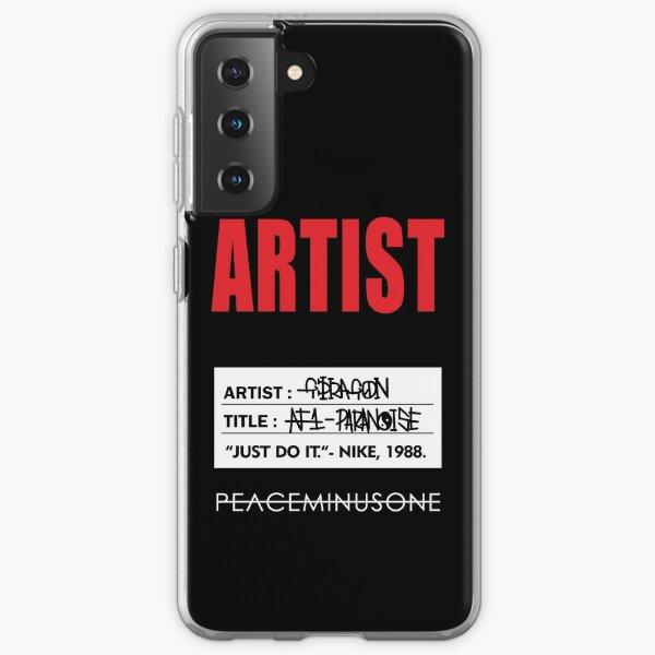 ARTIST GDRAGON PARANOISE TAG Samsung Galaxy Soft Case
