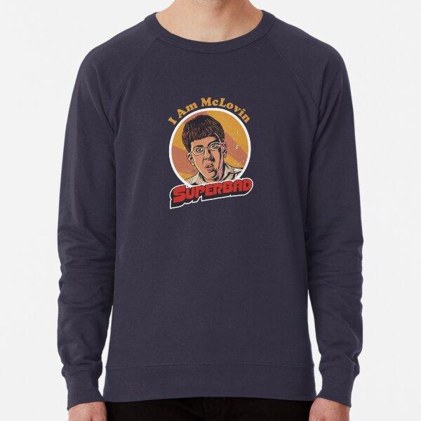 adsc kfhcaiop Mclovin camiseta ikacoip Superbad ikcasnmico I Am Sudadera ligera