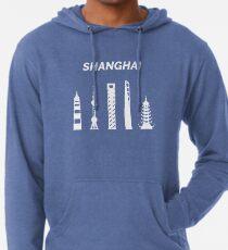 Shanghai Municipality in China Lightweight Hoodie