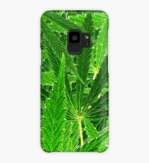 hemp leaf collage Case/Skin for Samsung Galaxy