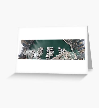 Dubai Marina Panorama 2 Greeting Card