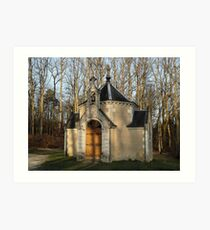 Church or Crypt?, Montresor, Loire Valley, France 2012 Art Print