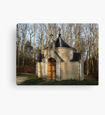 Church or Crypt?, Montresor, Loire Valley, France 2012 Canvas Print