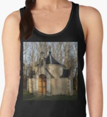 Church or Crypt?, Montresor, Loire Valley, France 2012 Women's Tank Top