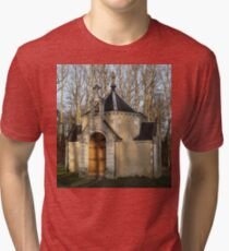Church or Crypt?, Montresor, Loire Valley, France 2012 Tri-blend T-Shirt