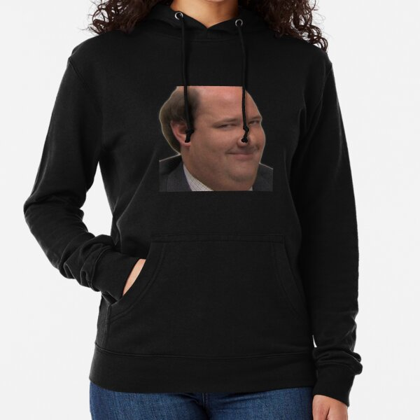 kevin malone the office smile Lightweight Hoodie