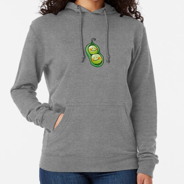 cute 2 peas in a pod Lightweight Hoodie