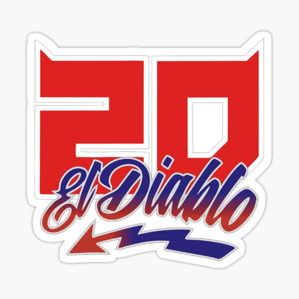 El 20 Diablo Sticker