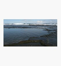 Bar Beach Rocks Photographic Print