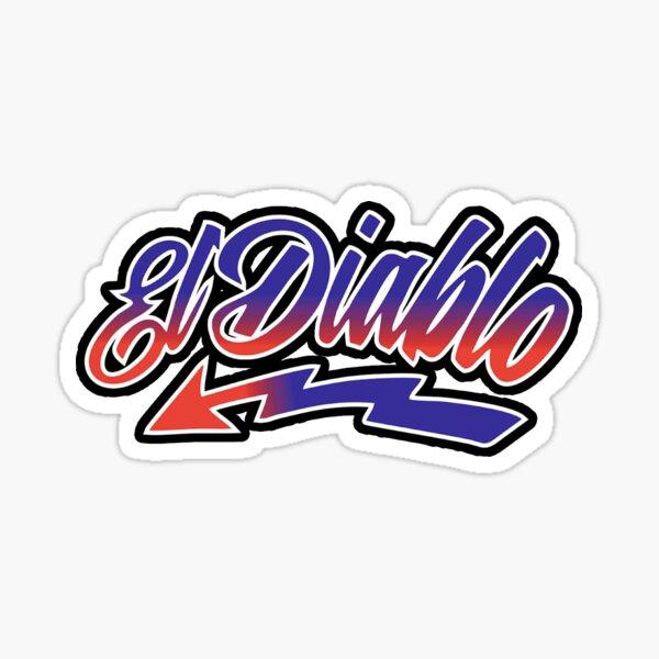 20 El Diablo Sticker