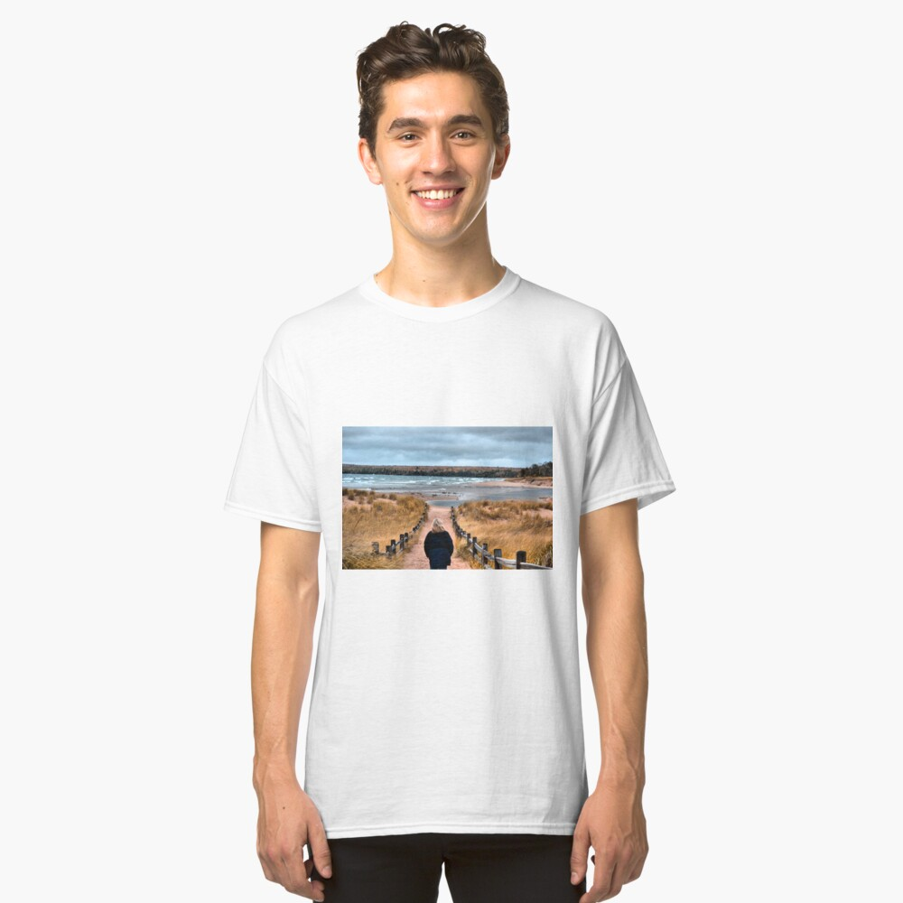 A Walk to the Water Classic T-Shirt Front