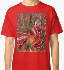 flaming vortex abstract Classic T-Shirt
