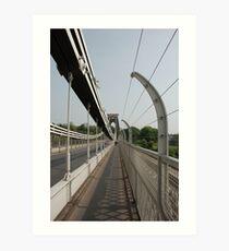 Clifton Suspension Bridge Art Print