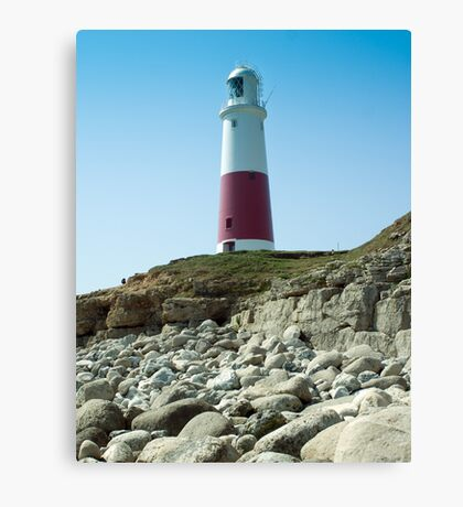 Portland Lighthouse, Dorset Canvas Print