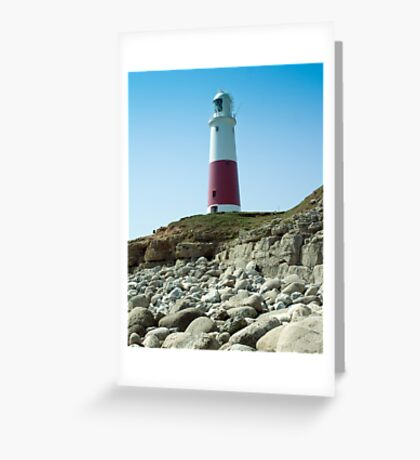 Portland Lighthouse, Dorset Greeting Card