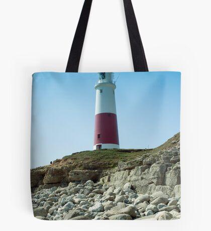 Portland Lighthouse, Dorset Tote Bag