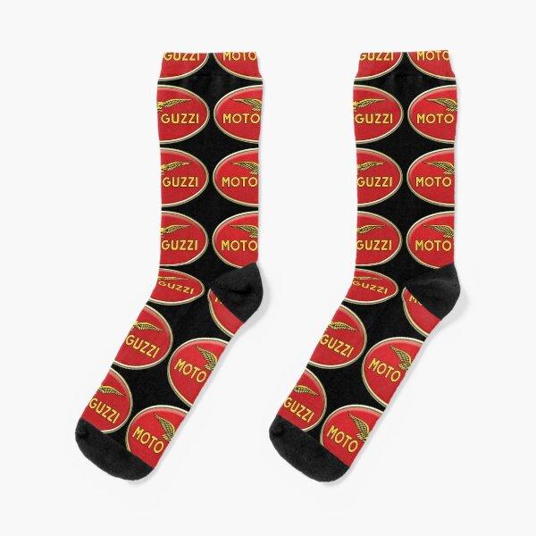 Classic Oval Guzzi Logo Socks