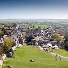 Corfe Village and Church by Dean Messenger