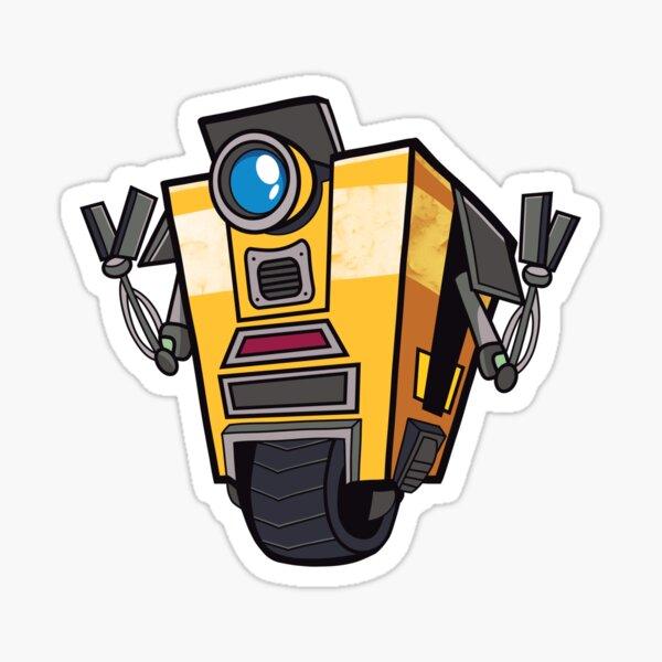 Claptrap Sticker