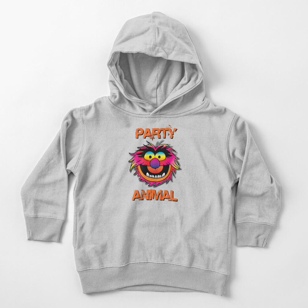 Party Animal Muppet - Orange Toddler Pullover Hoodie