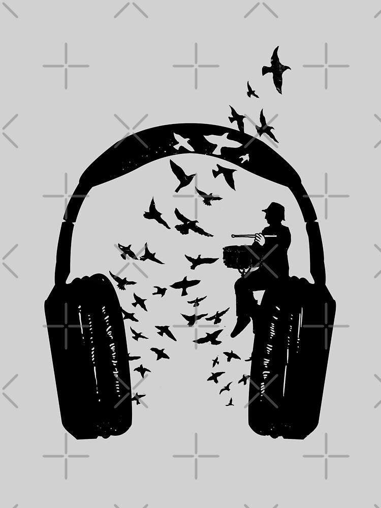 Headphone - Snare drum by barmalisiRTB