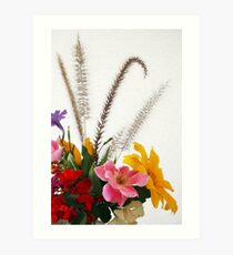 Chrissy's Garden Bouquet Art Print