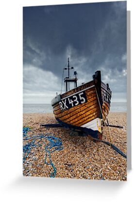 Fishing Boat by Nigel Bangert