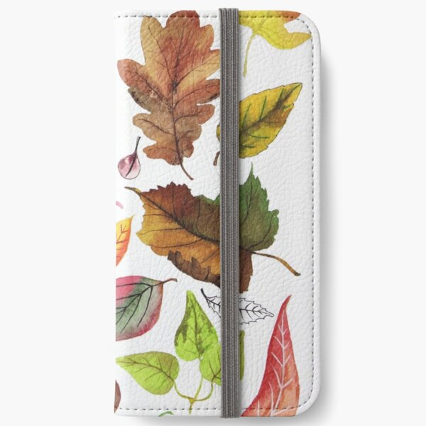 Autumn leaves iPhone Wallet