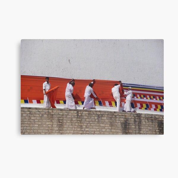 Cérémonie  au Sri Lanka Impression sur toile