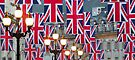 London. Regent Street. Royal Wedding Flags. (Alan Copson ©) by Alan Copson