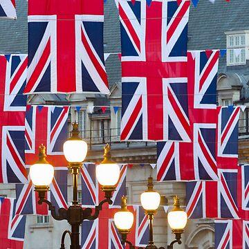 London. Regent Street. Royal Wedding Flags. (Alan Copson ©) by AlanCopson