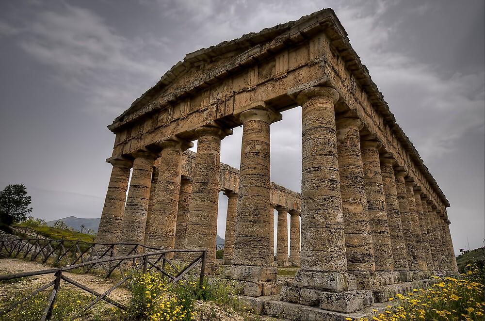 Il tempio di Segesta by Andrea Rapisarda