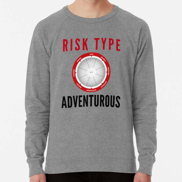 Risk Type Compass Adventurous T Shirt Lightweight Sweatshirt