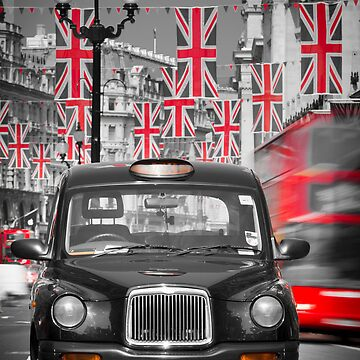 UK. London. Regent Street. Union Jack decorations for Royal Wedding.(Alan Copson ©) by AlanCopson